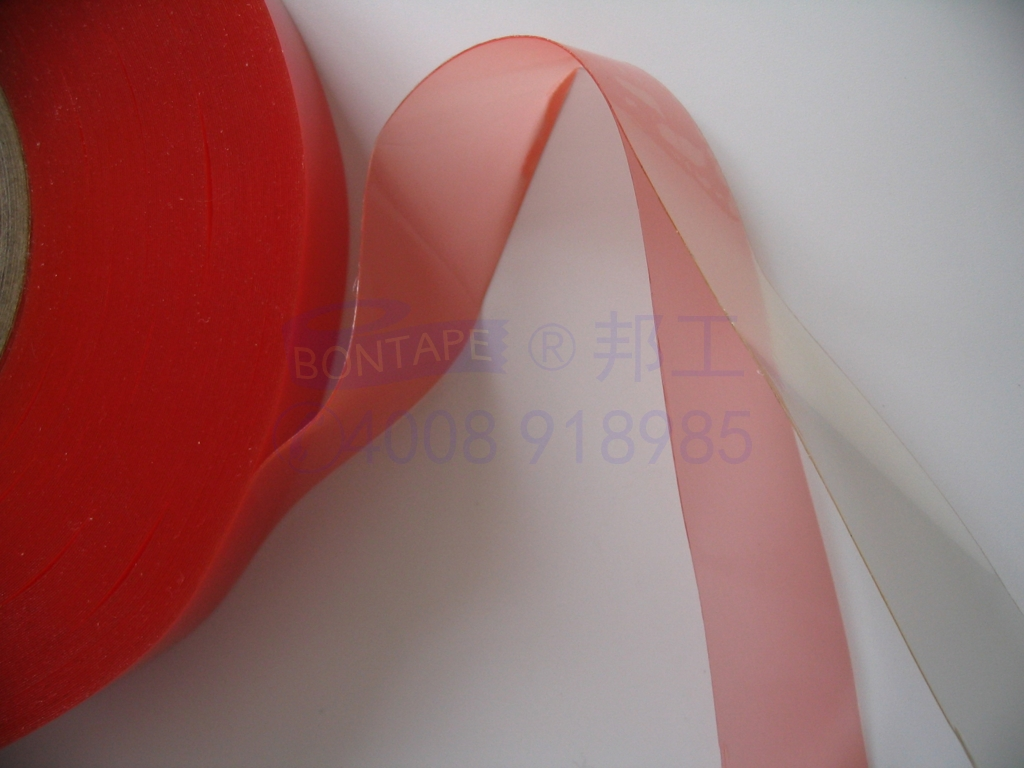 heat resistance double-sided insulating tape, strong viscosity double-sided tape, red film tape, insulating sleeve fixing tape,  electrical tape